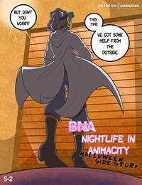 Nightlife In Animacity - Halloween Side…