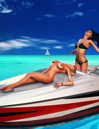Scorching and lesbian Wailing 3d Gallery