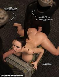 Seized Heroines Feline Fatale - part 3