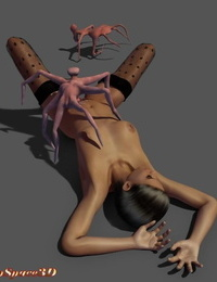 Deepspace3D Alien Monster Rape - part 3