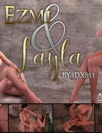 3dx851 - Ezmi & Layla - part 3