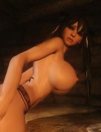 My Skyrim Hot Davakin chick like big monster shaft - part 3