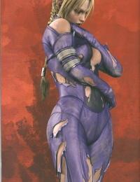 TEKKEN - Nina Williams -Death By Degrees - Hi Res Artbook