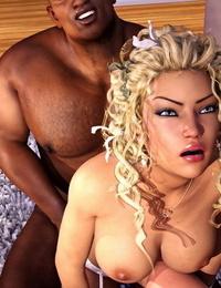 Sexy3DComics – Ebony Takes White 1 - part 3