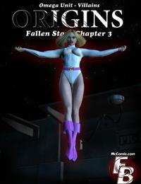 Omega Unit - Villains Origins: FallenStar - part 2