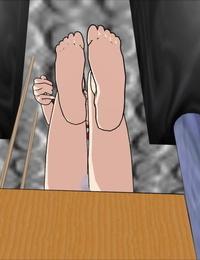 3D Sole Fetish & Restrain bondage Idol in Restrain bondage OREIMO - part 4