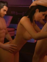Mass Effect 3 - Ashley Williams Gmod Bevy - part 2