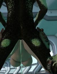 DizzyDills Aliens vs Girls
