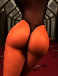 Orange Booty Cheeks