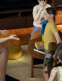 西门吃雪 妻子和小鬼2 - part 2