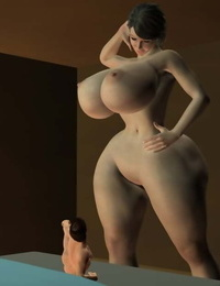 Giantess 3d - part 4