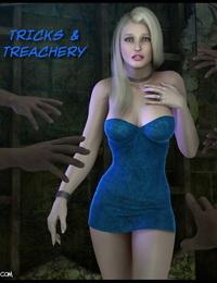Foxy Komix Tricks & Treachery 1-2