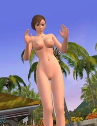 Dead or Alive Xtreme Beach Volleyball Nude Mod Screenshot
