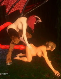 Morfium Kyla and Virtra - The Transformation - part 3