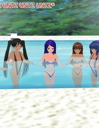 Wriggling Pool Party