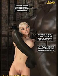 Zzomp Tihanna Enjoys Orcs Part 3