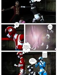 G9Comics galford9 GAIA Rangers Shadow Rangers 2: Book 4 - part 4