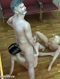 A School Tradition t-girl 3D - part 2