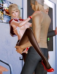 The Naive and Careless Daughter 迷糊的女兒 Chapter 5 - Obscene Chikan Chapter 猥褻痴漢篇 Chinese - part 3