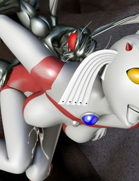 Absinthe Ultra Chick tai Hae Seijin Ultraman
