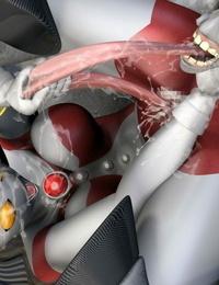 Absinthe VS Unicorn Seijin Ultraman - part 2