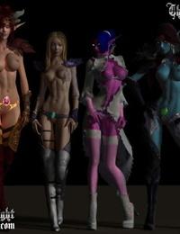 The Knight Glistens Bright 3D - part 2