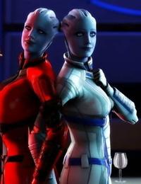 Mass Effect : Liara SFM lordaardvarksfm