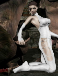 Vaesark Princess Padme and the Rancors Star Wars