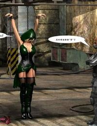 MrBunnyArt miss green arrow vs cain Green Arrow Chinese
