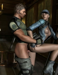 Resident evil 5 3D