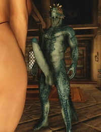 Skyrim Thick Dino Dick and pretty Woman sos - part 2