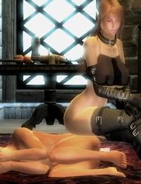 Oblivion Sexdarkness XLovers - part 2