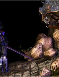 Mongo Bongo Bretonnia Knight in Dragons Lair