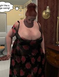 3Darlings Model Nadia gobble Donuts - part 7