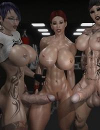 Joos3dart Gym Bunny Comic and Wet - part 5