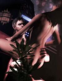Resident Evil Hentai 3D - part 2