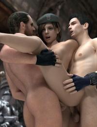 Resident Evil Hentai 3D - part 3