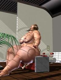 plumper giant and giantess girl