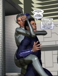 Dr. Robo / Finister Foul / Trishbot Chrome Virus 48 - 50