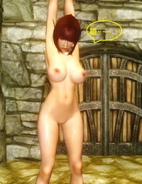 Skyrim huntress 8 上古5女猎手艾拉第八集) - part 4