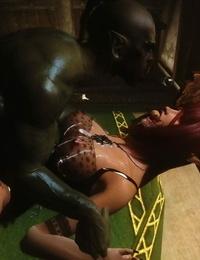 Skyrim huntress 6 上古5女猎手艾拉第六集) - part 3