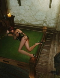 Skyrim huntress 6 上古5女猎手艾拉第六集)