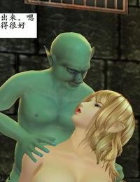 高傲女魔法师被哥布林凌辱侵犯 第一季 - part 3