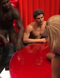 Sexy3DComics Black Takes White - Scene 5 - part 3