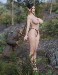 Elf Slave 2 - Main set Jared999D