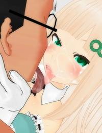 Pixiv artist:ぞくぶつ Nip Fuck-3D Custom-made Girl