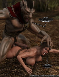 Amazons-Vs-Monsters Brunt of the Fill