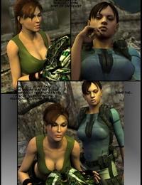 Lara Croft in Bolivia