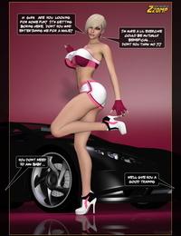 Car Showcase Lady