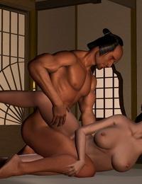 Artist - Kunimasa 3D - Traditional Japanese Postures